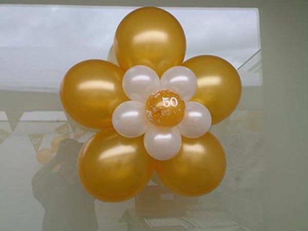 Welp Enjoy Feestballonshop | Gouden Huwelijk RO-22