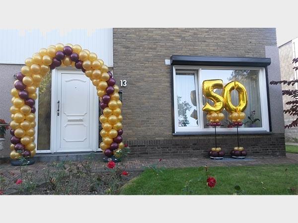 Nieuw Enjoy Feestballonshop | Gouden Huwelijk XO-32