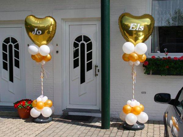 Spiksplinternieuw Enjoy Feestballonshop | Gouden Huwelijk GG-37